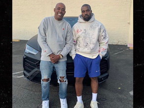Kanye West Surprises Former Manager John Monopoly with 2019 Lambo