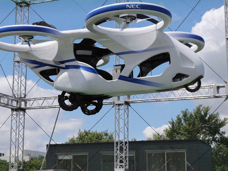 """A Japanese """"flying car"""" has successfully made its first test flight"""