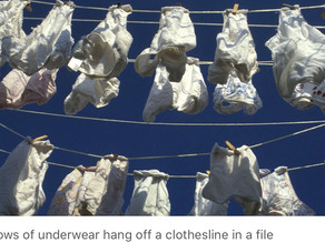 45 percent of Americans admit they wear same underwear for 2 days or more in row, survey finds