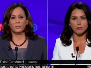 Tulsi Gabbard Calls Kamala Harris a Drug Warrior and Dirty Prosecutor. She's Right