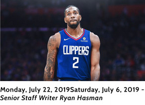 Clipper's New Star Kawhi Leonard Sues NBA For Fines Related To Controversial Supplement Use