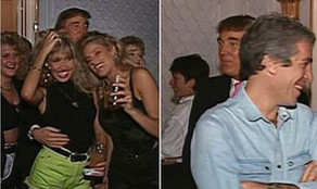 Video shows Donald Trump partying with Jeffery Epstein and others