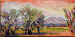Summer Retreat II, 12x24, Oil on Canvas, Sold