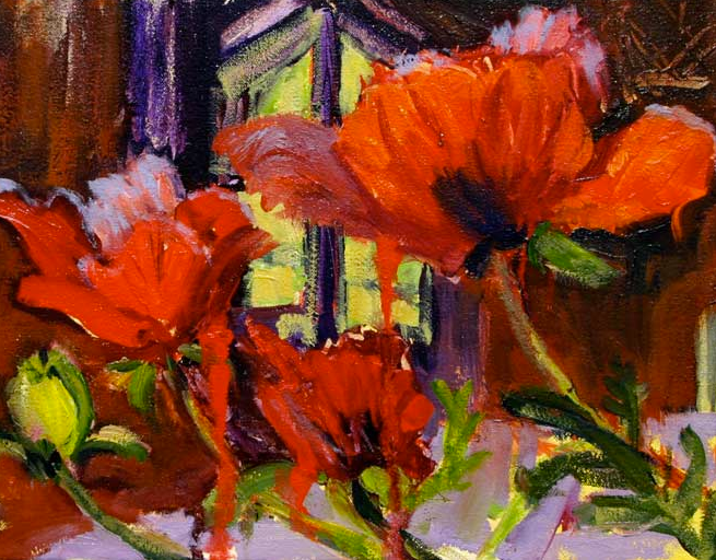 Poppies 12x18