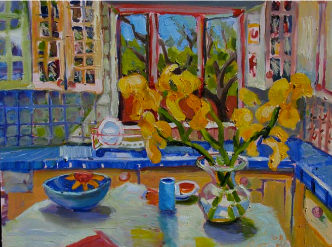 Kitchen, 18x24, Oil on Board, Sold.png