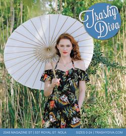 Trashy Diva Print Ad