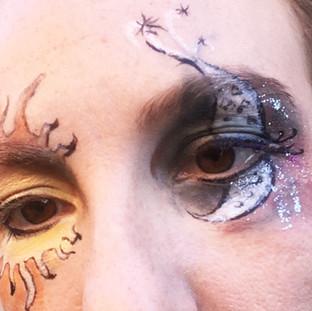 Solar and Lunar Eye