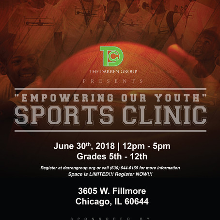 Empowering Our Youth - 2018 Sports Clinic