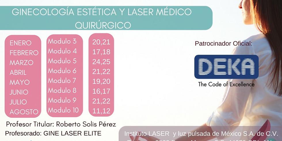 Módulo 3 | GDL | Diplomado en Ginecología Bio-Regenerativa y LASER Medico Quirúrgico.