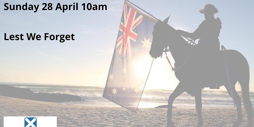 ANZAC Commemoration Service