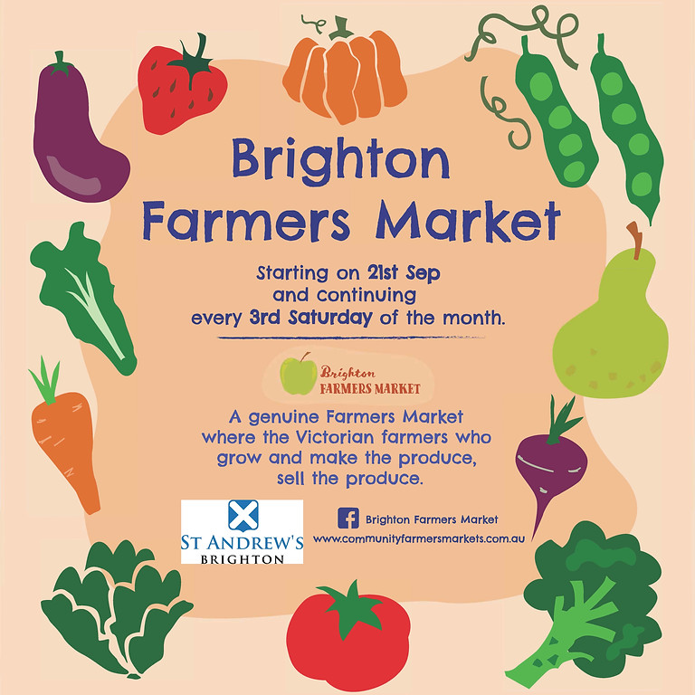 Brighton Farmers Market - 19 December
