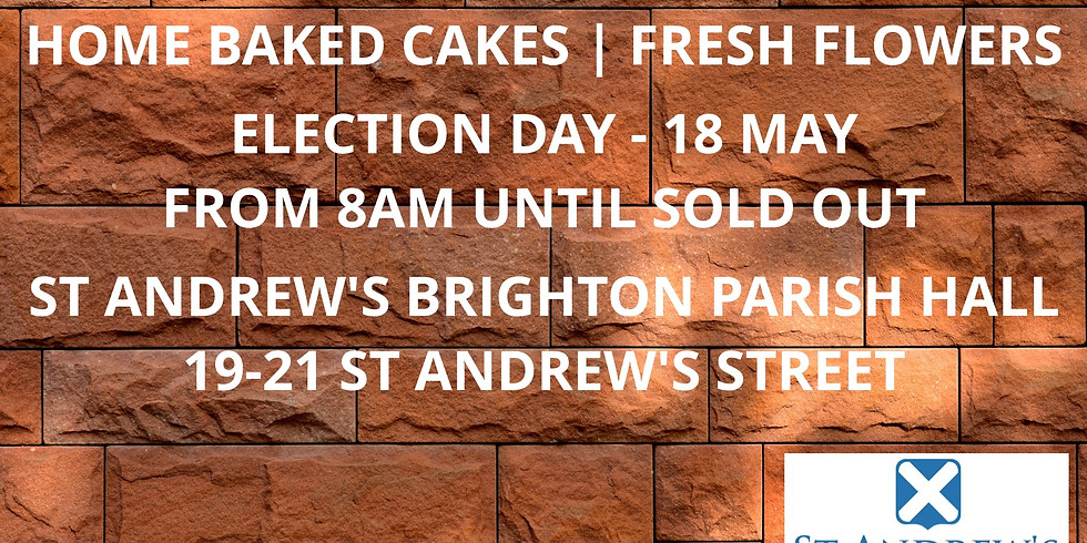 Democracy Sausage Sizzle | Home Baked Goods | Fresh Flowers