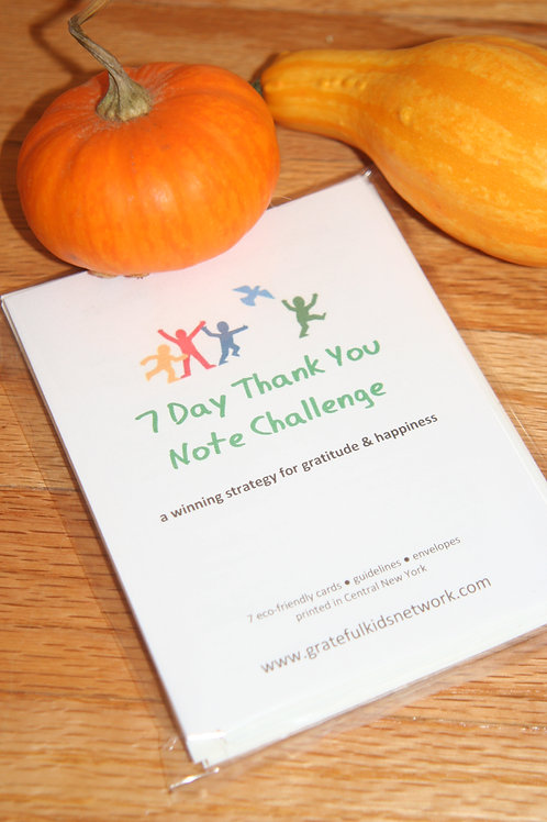 7-day Challenge Thank You Notes