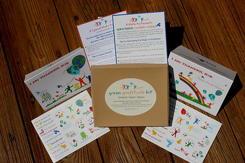 Gratitude Kit for Kids by Green Birthday