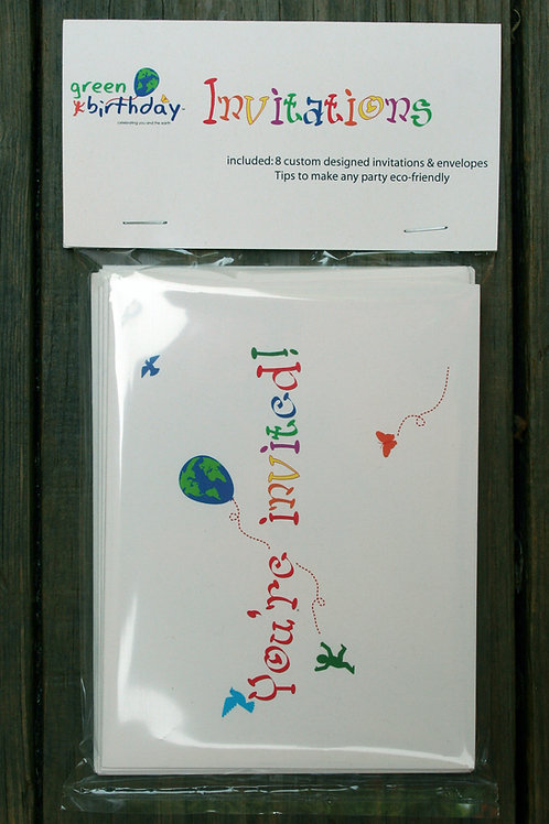 Birthday Invitations by Green Birthday