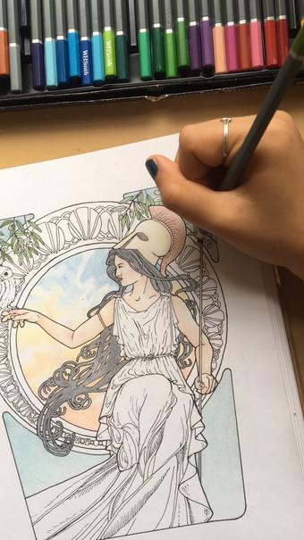 Time-lapse Athena