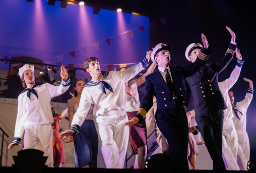 Costume Design for Anything Goes (2016)