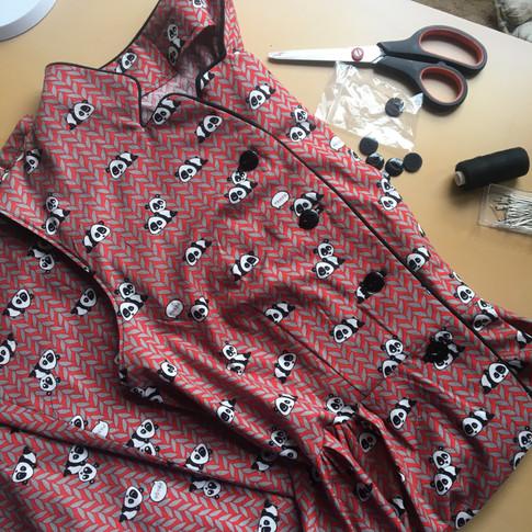 Butterick 590 Vintage Style Dress