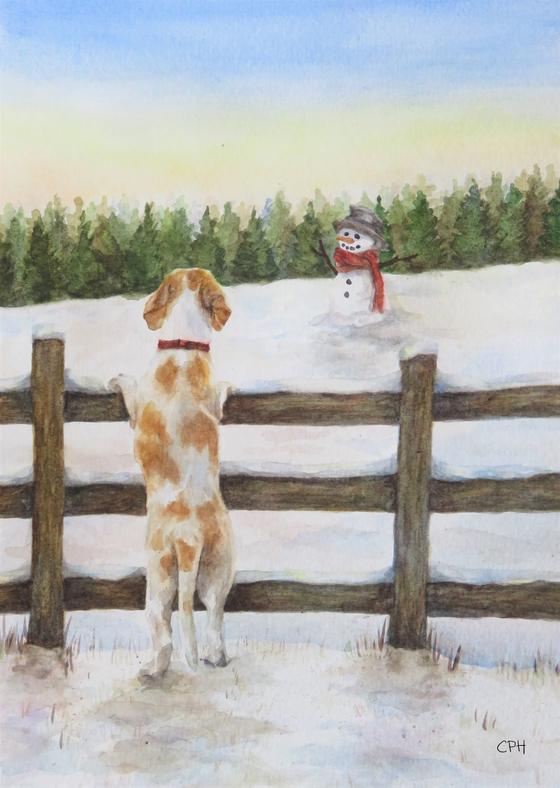 Archie & Snowman