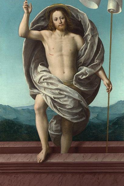 Гауденцио Феррари - Воскресение Христа, 30х40 см.