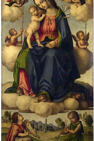 Джованни Баттиста да Фаэнца - Мадонна с, 30х40 см.