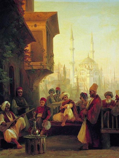 Восточная сцена. 1846, 30х40 см.