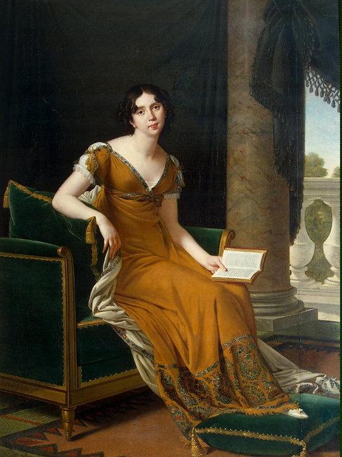 Лефевр, Робер - Портрет Е. А. Демидово,  30х40 см.
