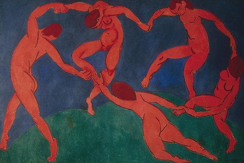 Матисс, Анри - Танец,  30х40 см.