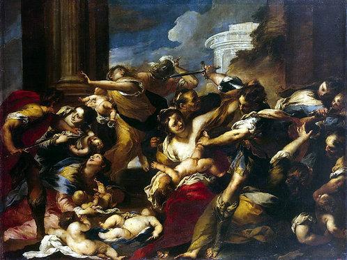 Кастелло, Валерио - Избиение младенцев, 30х40 см.