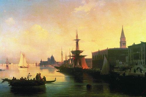 Венеция, 1842, 30х40 см.
