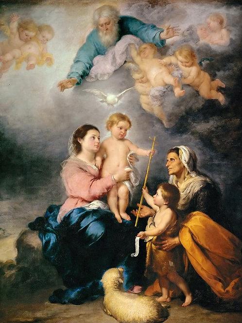 Мурильо, Бартоломе Эстебан (Севилья 1617,30х40 см.