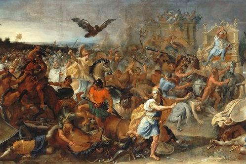 Шарль- Битва при Гавгамелах, 3040см.