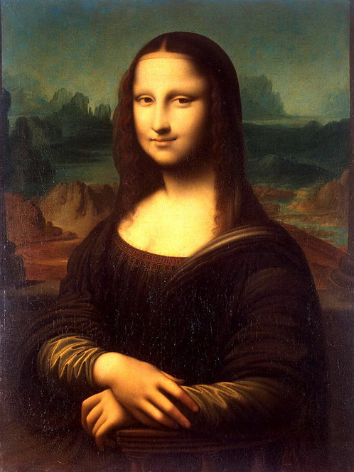 Портрет Моны Лизы Джоконды, 30х40 см.