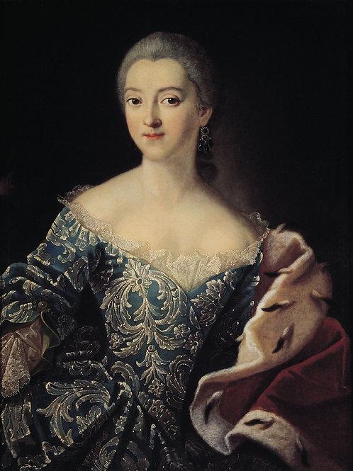 Портрет княгини Екатерины Александровны, 30х40 см.