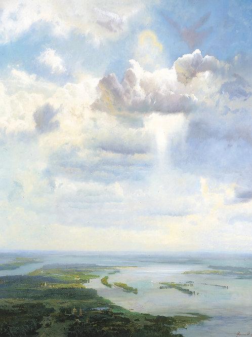 Небо Святой Руси 30х40 см.