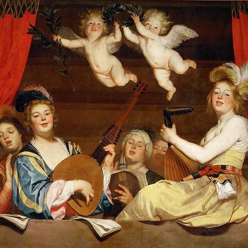 Хонтхорст, Геррит ван (Утрехт 1592-1656),30х40 см.