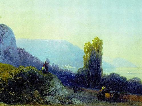 По дороге в Ялту. 1860-е