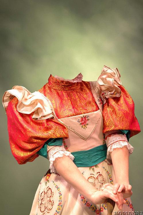 Художествееная обработка в костюм, № 555