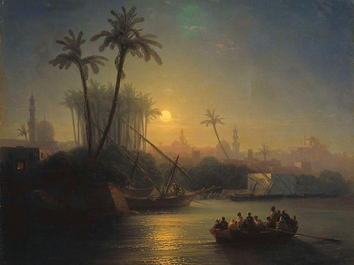 Золотой Рог. 1872, 30х40 см.