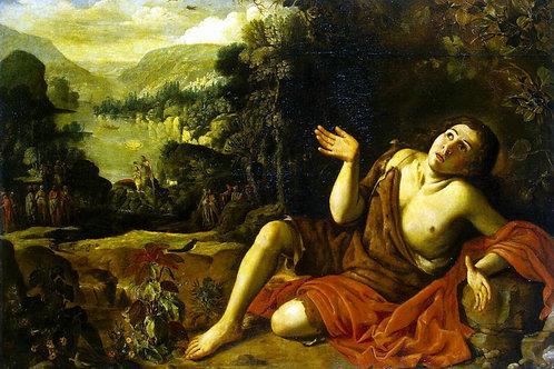 Кольянтес, Франсиско - Иоанн Креститель, 30х40 см.