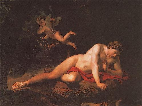 Нарцисс. 1819, 30х40 см.