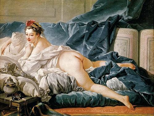 Буше, Франсуа -- Одалиска  30х40 см.