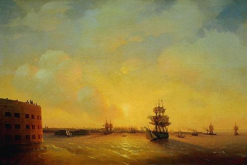 Кронштадт. Форт Император Александр I. 1844