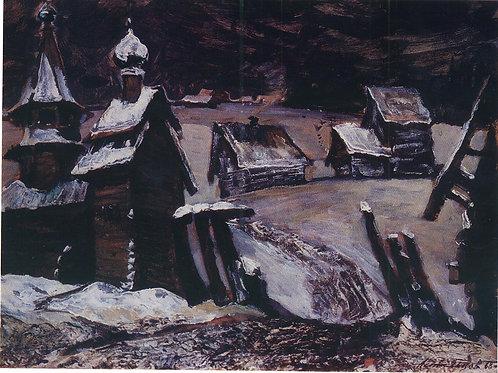 «Северная русь. 1968»  30х40 см.