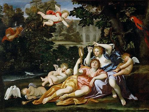 Доменикино (Доменико Дзампьери) (1581 Б ,30х40 см.