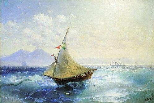 Пейзаж с Везувием. 1896