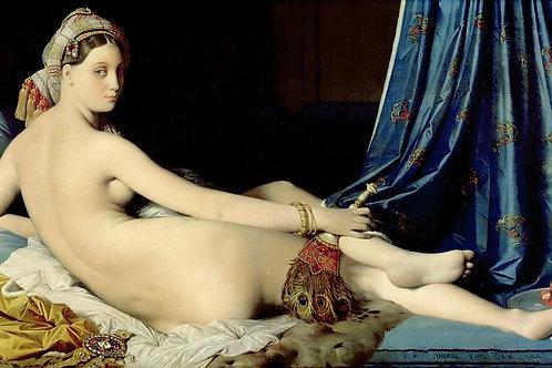 нгр, Жан-Огюст-Доминик (1780 Монтобан - 30х40 см.