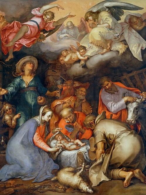Блумарт, Абрахам (1566 Горинхем - 1651  ,30х40 см.