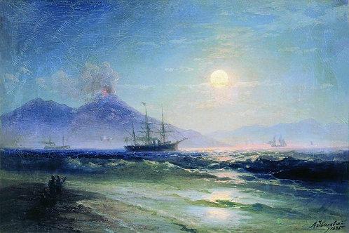 Неаполитанский залив ночью. 1895