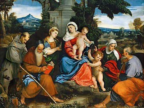 Бонифацио де Питати (1487 Верона - 1557 ,30х40 см.